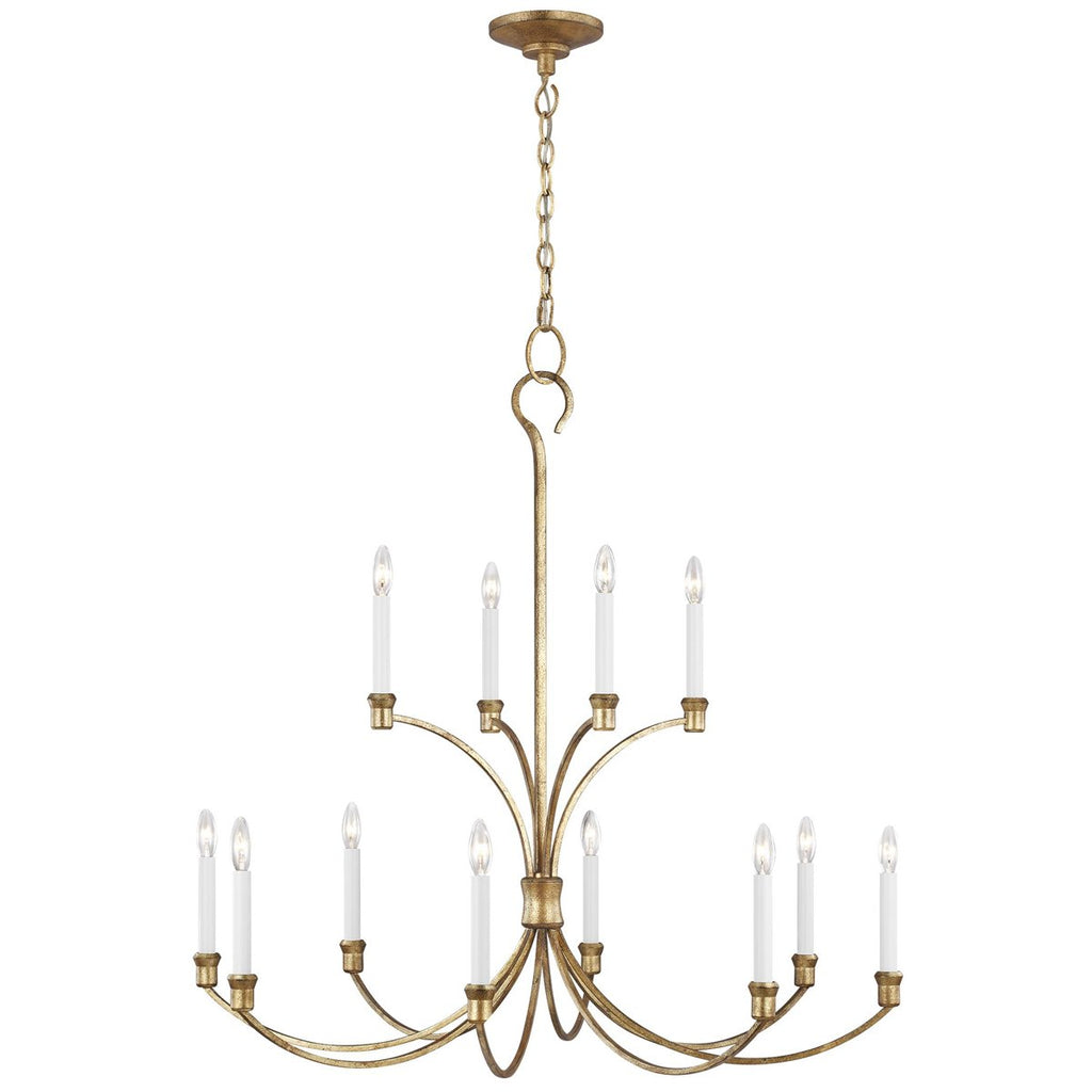 Feiss Westerly 12-Light Chandelier