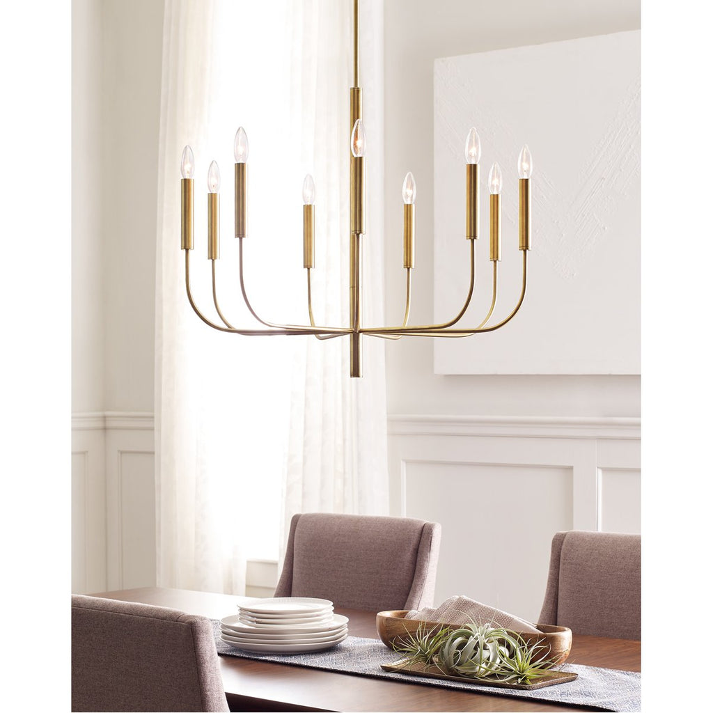Feiss Brianna 9-Light Chandelier