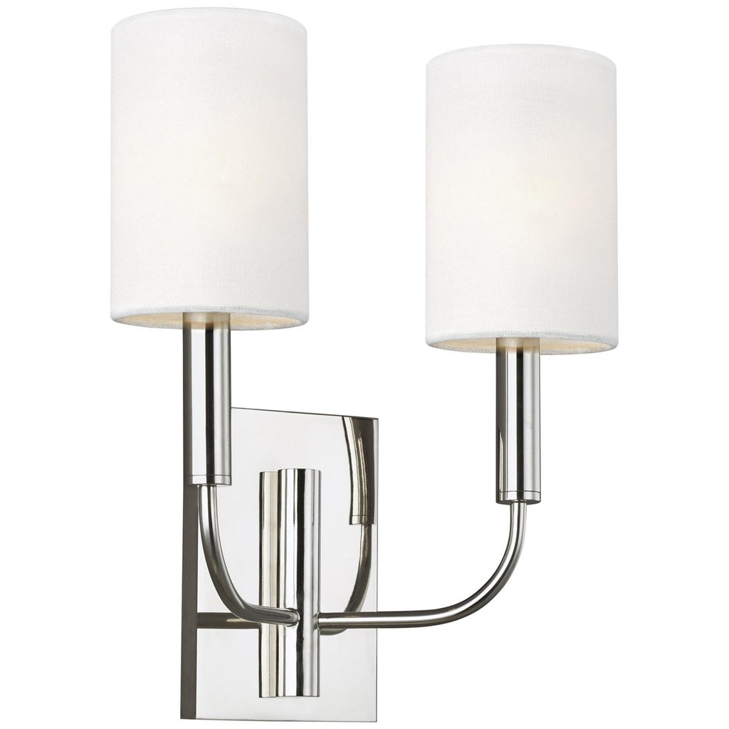 Feiss Brianna 2-Light Wall Sconce