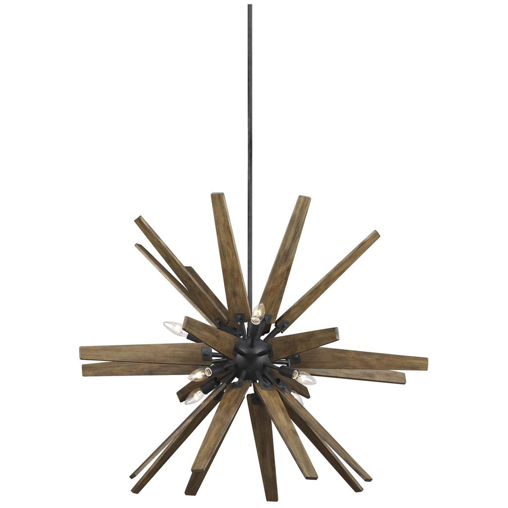 Feiss Thorne 8-Light Chandelier