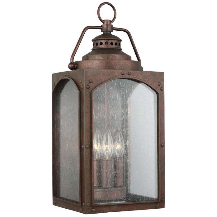 Feiss Randhurst 3-Light Wall Lantern