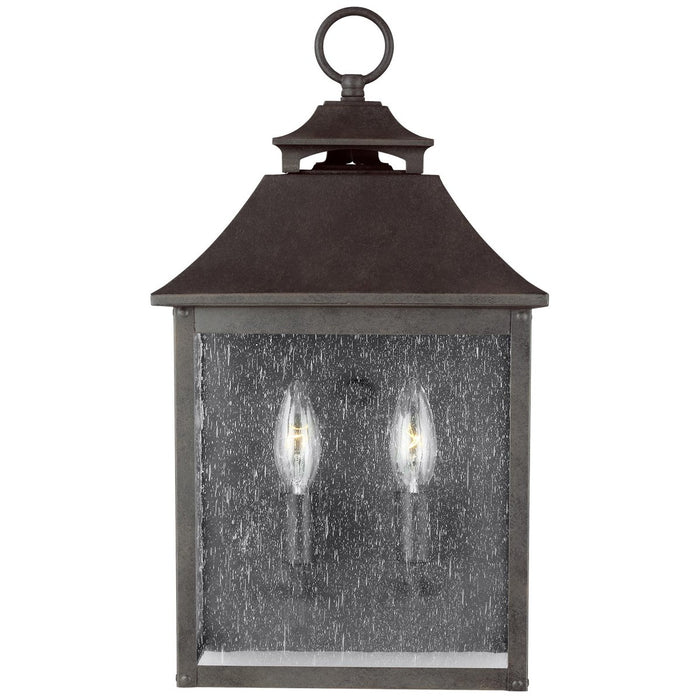Feiss Galena 2-Light Pocket Wall Lantern