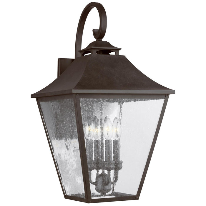 Feiss Galena 4-Light Wall Lantern