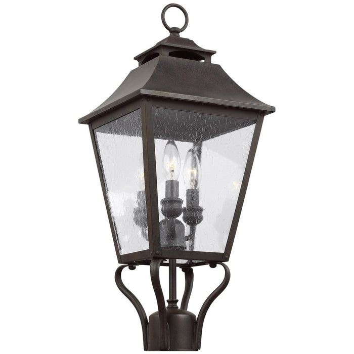 Feiss Galena 3-Light Post/Pier Lantern