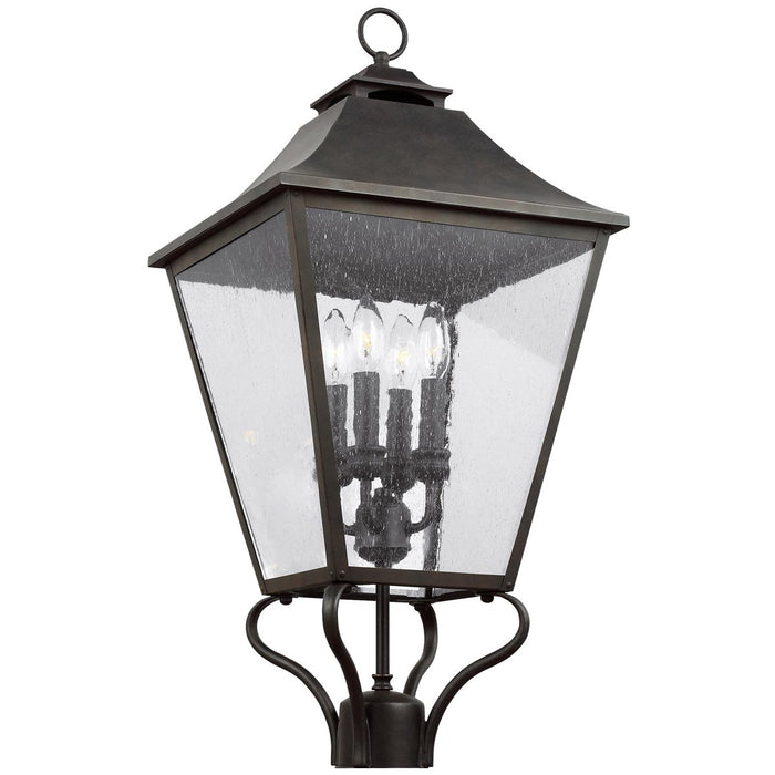 Feiss Galena 4-Light Post/Pier Lantern