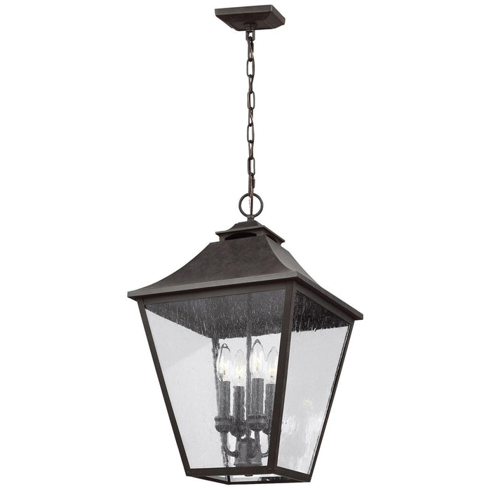 Feiss Galena 4-Light Hanging Lantern