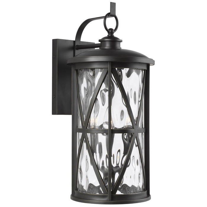 Feiss Millbrooke 3-Light Outdoor Wall Lantern