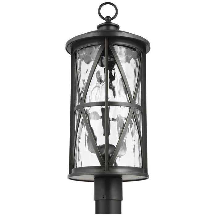 Feiss Millbrooke 3-Light Outdoor Post Lantern