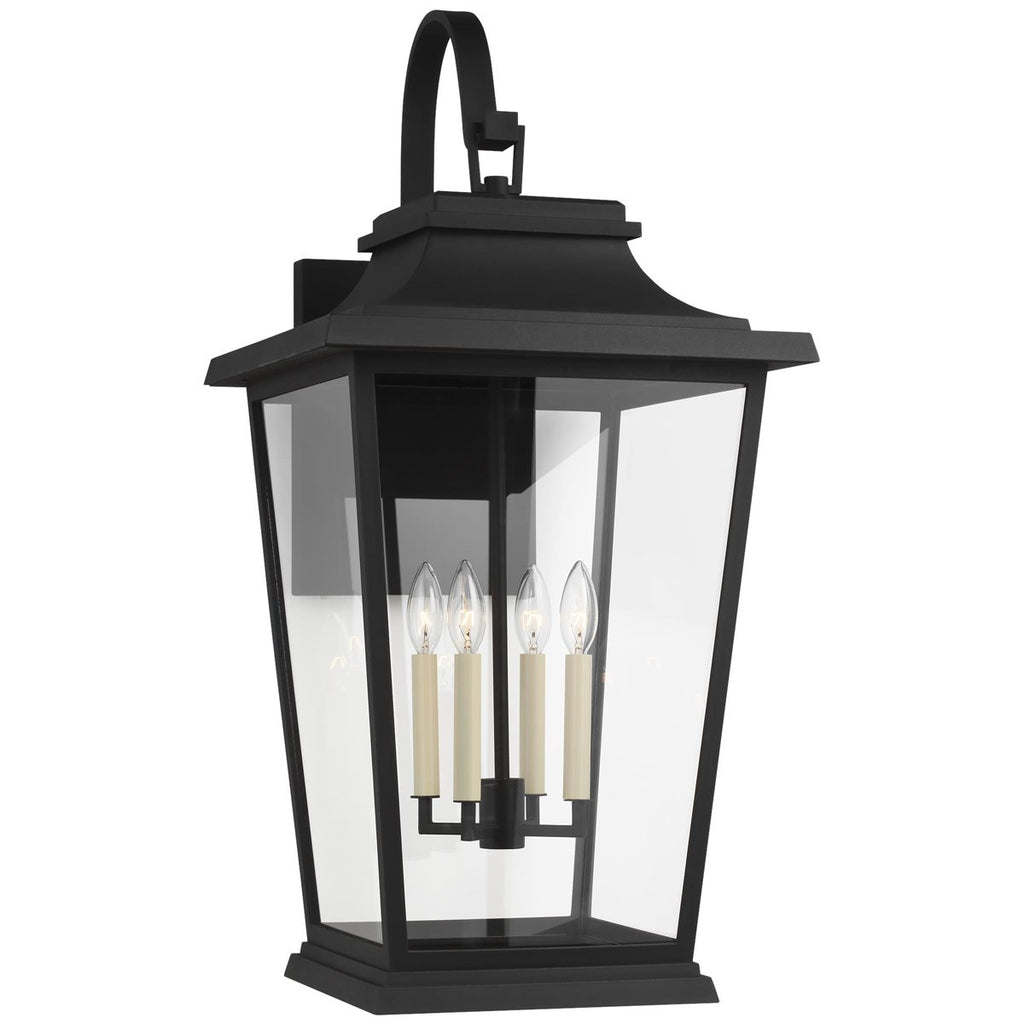 Feiss Warren 4-Light Outdoor Wall Lantern