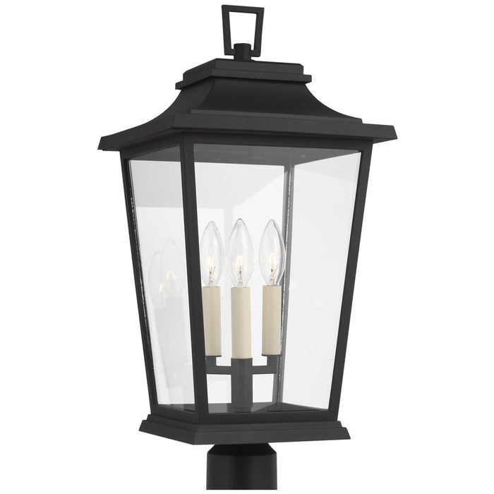 Feiss Warren 3-Light Outdoor Post Lantern