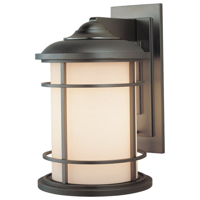 Feiss Lighthouse 1-Light Wall Lantern - Burnished Bronze
