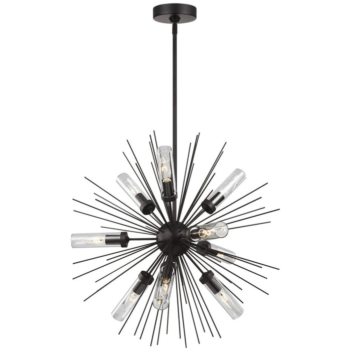 Feiss Hilo 9-Light Outdoor Chandelier