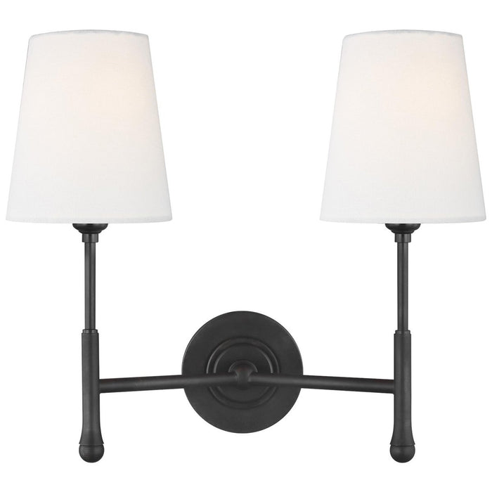 Feiss Capri 2-Light Wall Sconce
