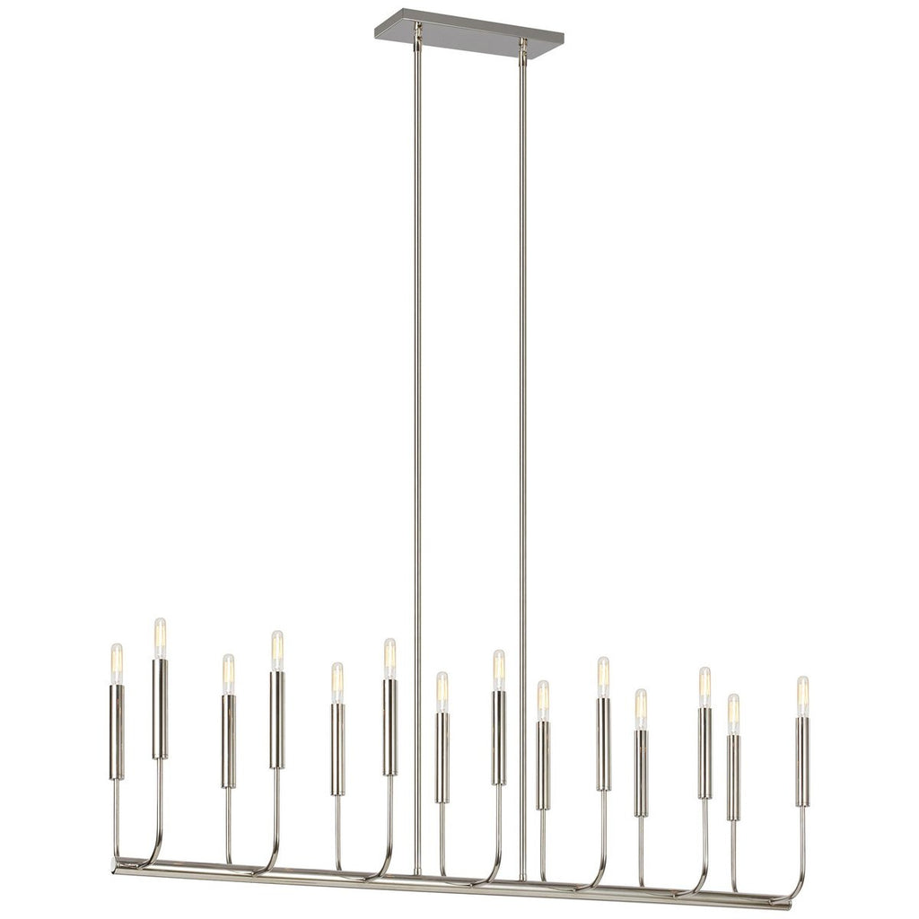 Feiss Brianna 14-Light Linear Chandelier