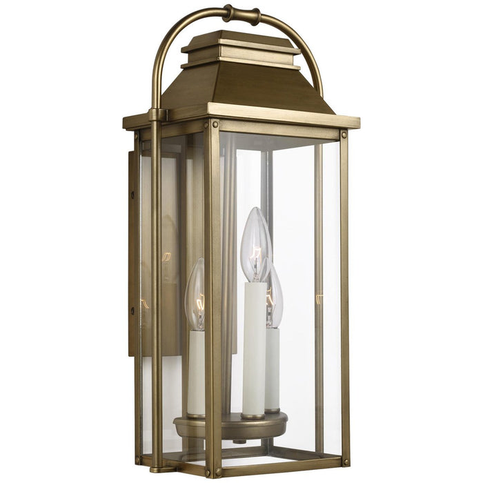 Feiss Wellsworth 3-Light Outdoor Wall Lantern