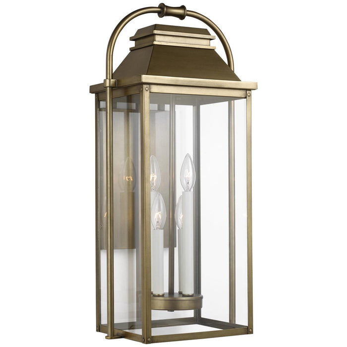 Feiss Wellsworth 4-Light Outdoor Wall Lantern