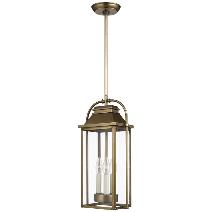 Feiss Wellsworth 3-Light Outdoor Pendant Lantern