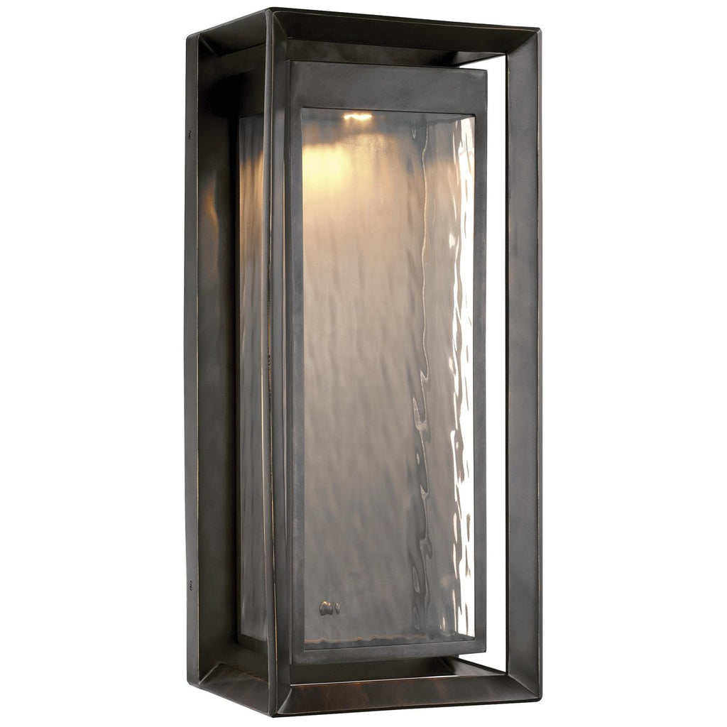 Feiss Urbandale 10-Inch 1-Light Outdoor LED Wall Lantern