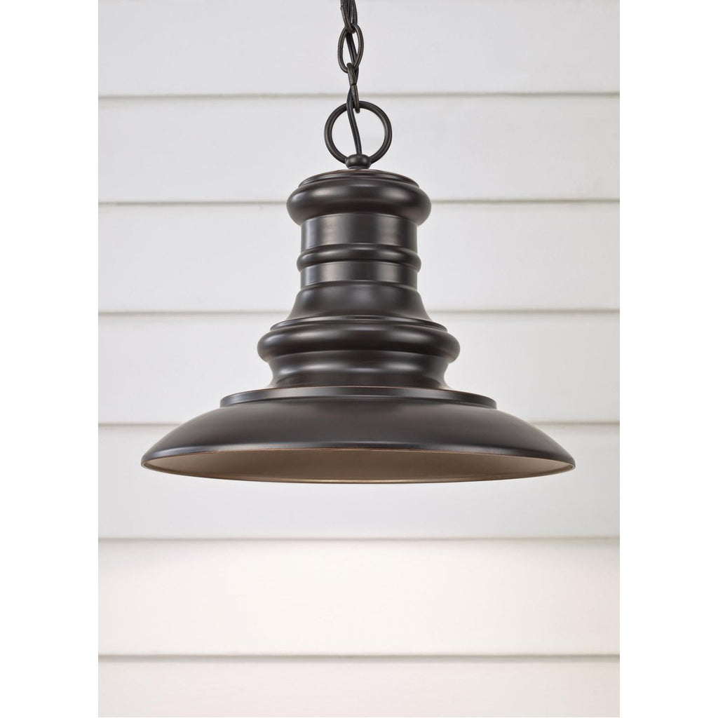 Feiss Redding Station 1-Light Outdoor Hanging Lantern