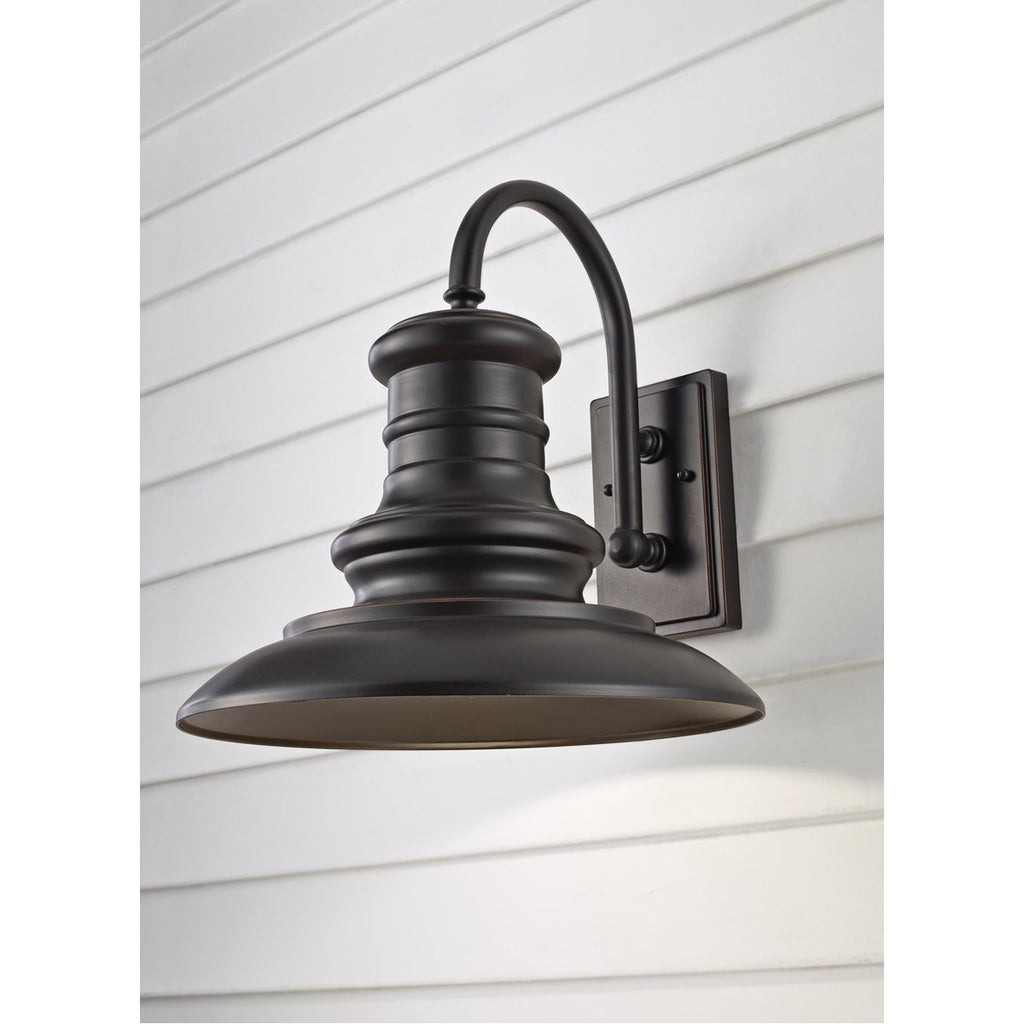 Feiss Redding Station 1-Light Large Outdoor Wall Lighting