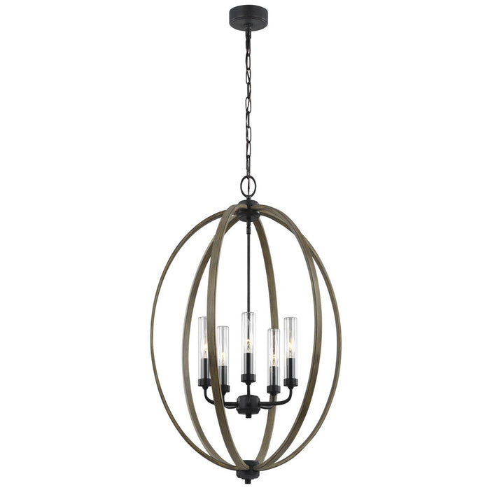 Feiss Allier 5-Light Outdoor Chandelier