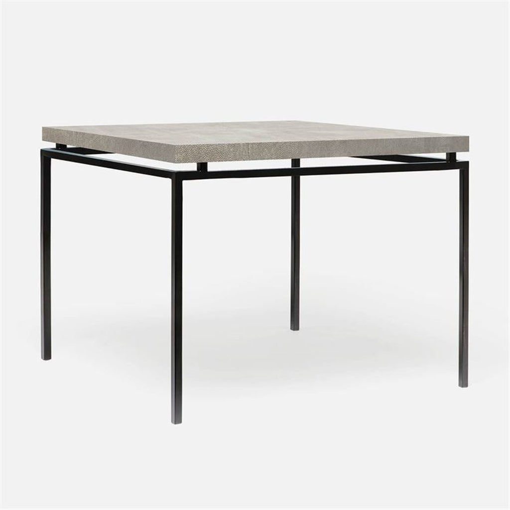 Made Goods Benjamin Realistic Faux Shagreen Game Table