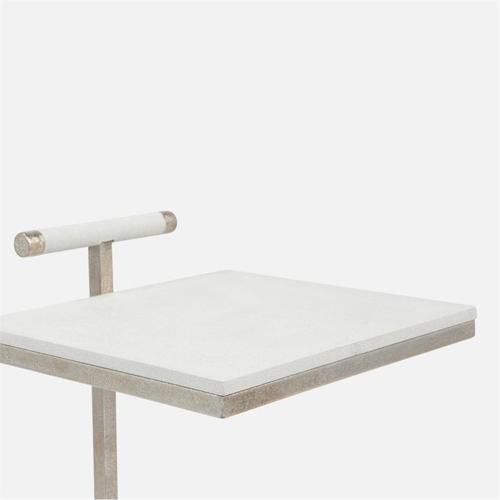 Made Goods Ellery Realistic Faux Shagreen Laptop Table