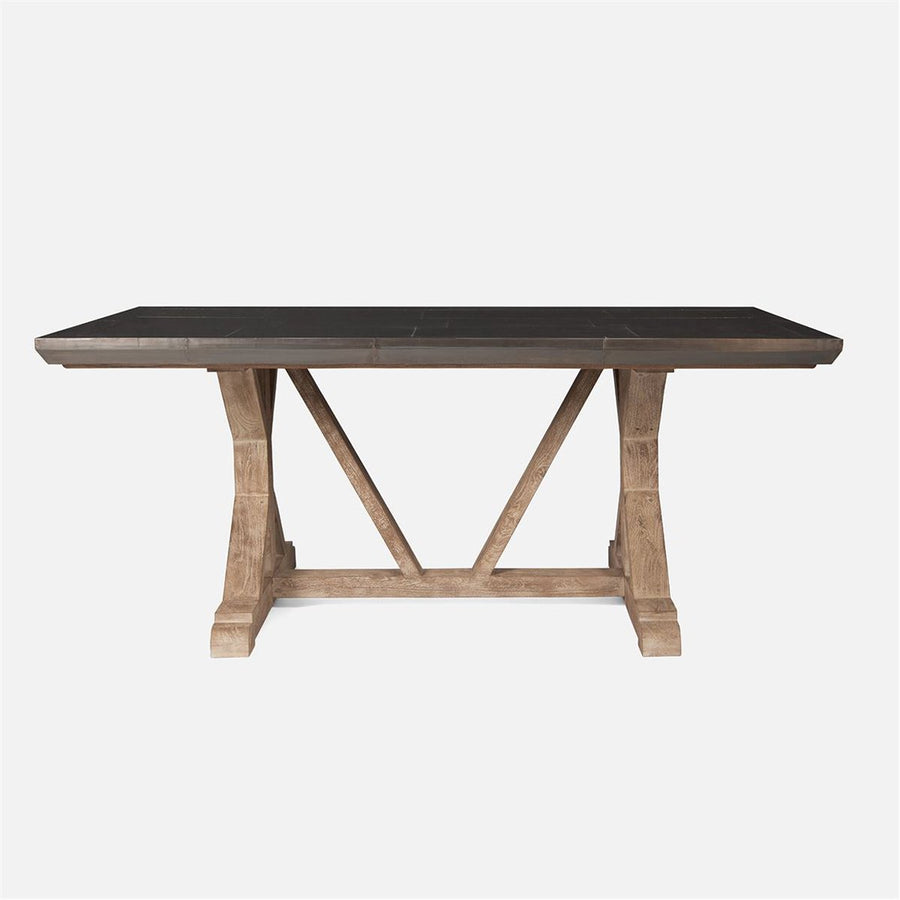 Made Goods Emeric Metal Dining Table