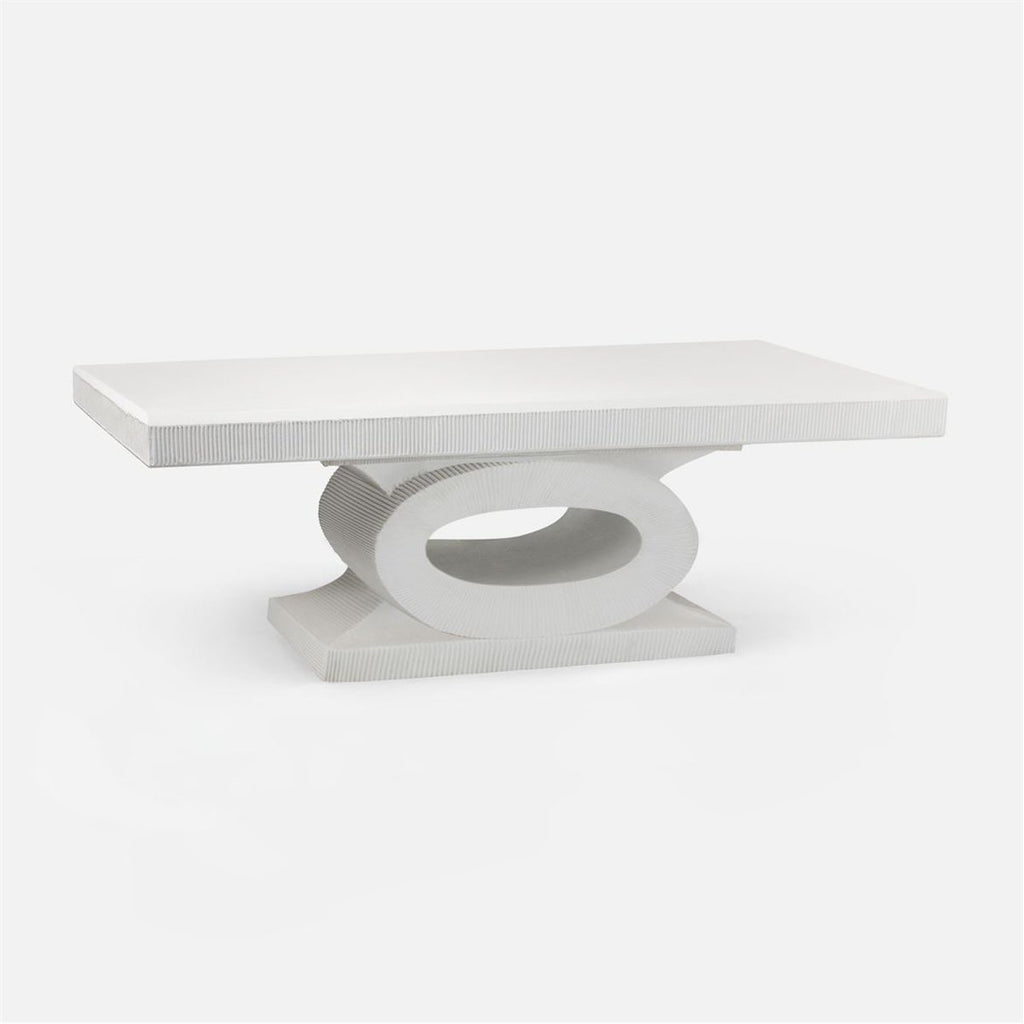 Made Goods Grier Formal Concrete Coffee Table
