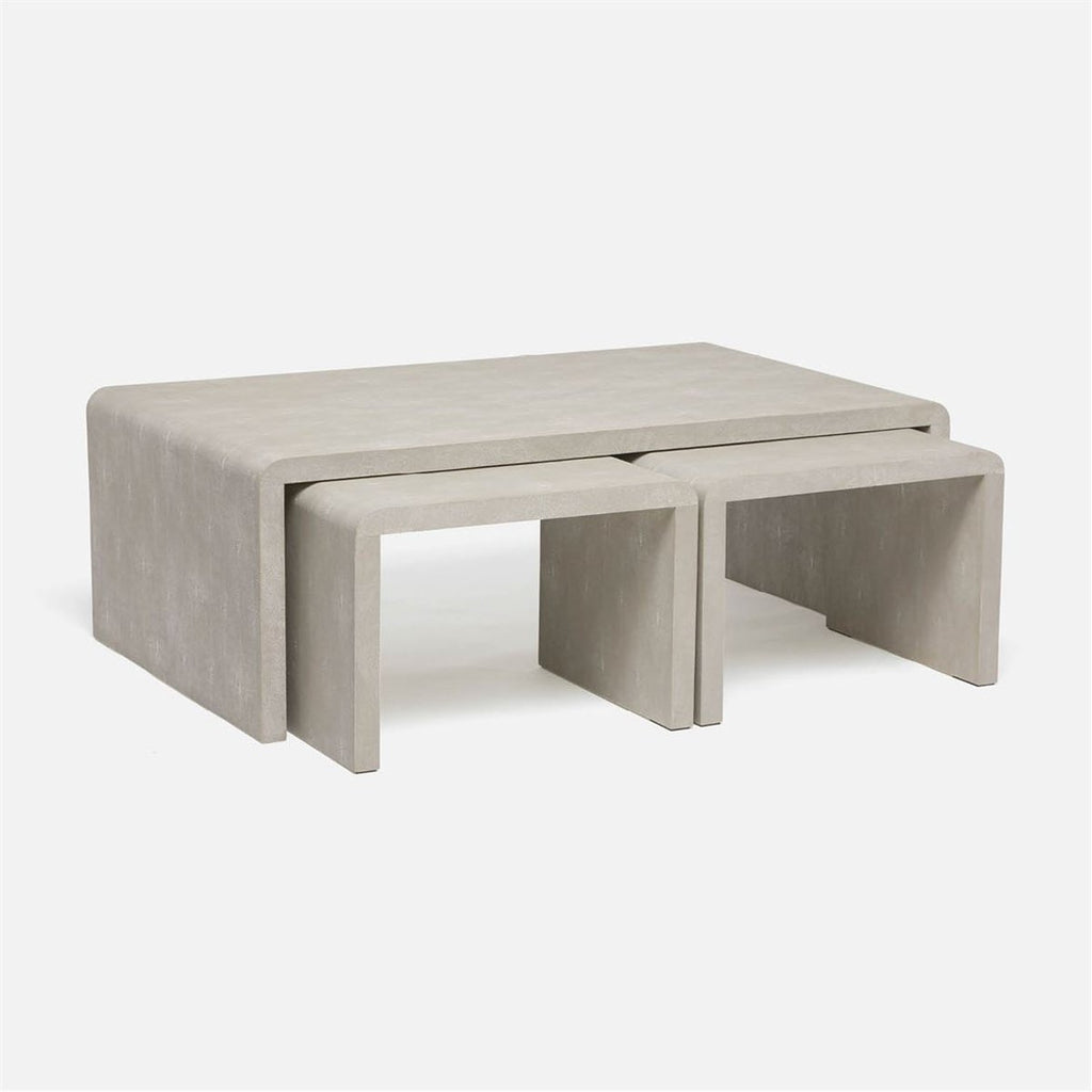 Made Goods Harlow Waterfall Nesting Coffee Tables
