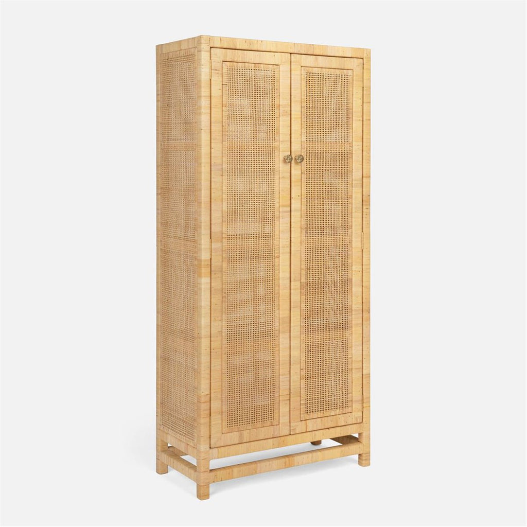 Made Goods Isla Rattan Cabinet