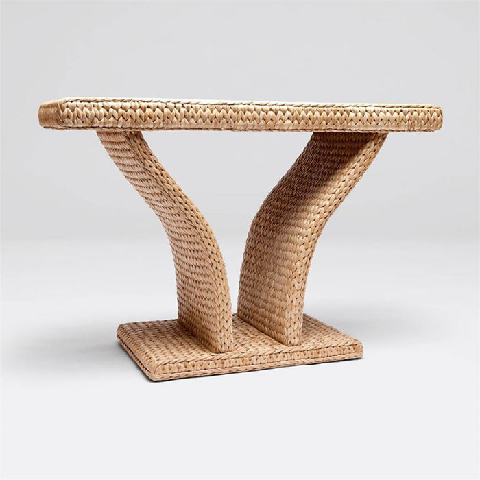 Made Goods Jacqueline Seagrass Console Table