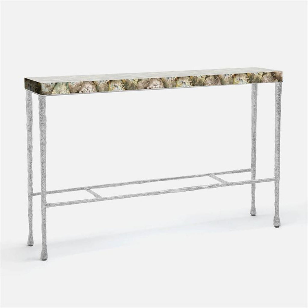 Made Goods Jovan Shell Top Console Table