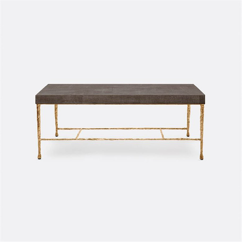 Made Goods Jovan Realistic Faux Shagreen Coffee Table