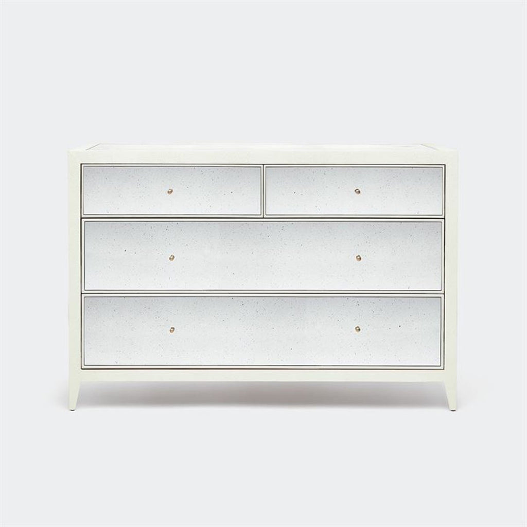 Made Goods Mia Faux Shagreen Dresser