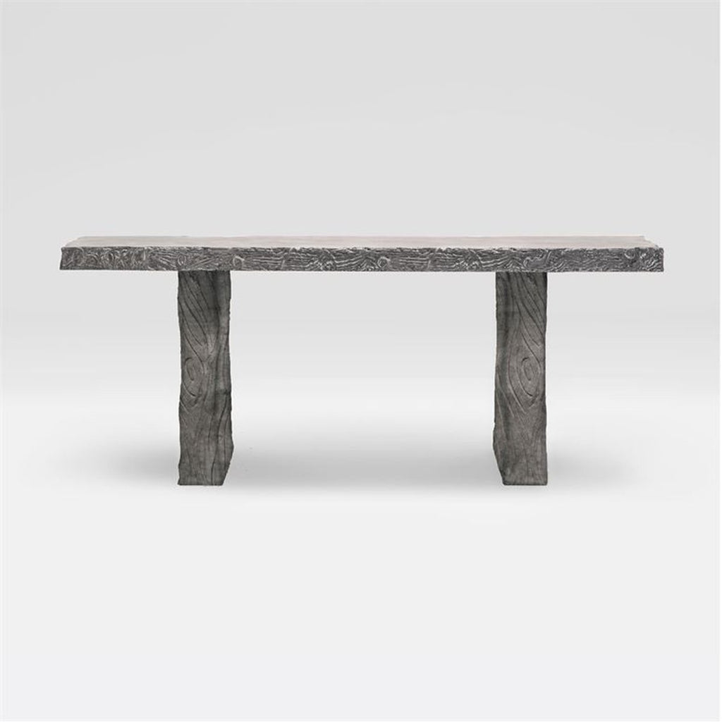 Picture of: Made Goods Norman Outdoor Console Table Outdoor Tables Benjamin Rugs Furniture