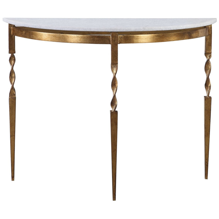 Uttermost Imelda Demilune Console Table