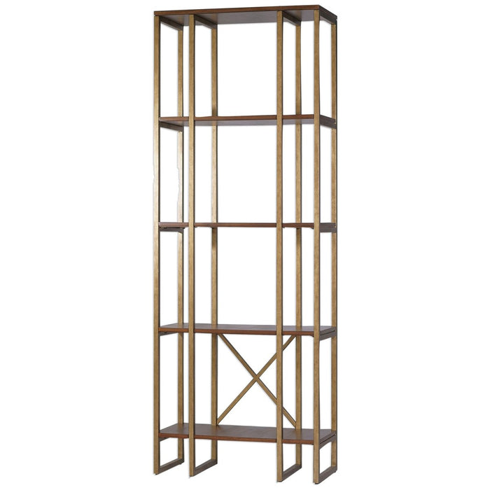 Uttermost Karishma Antique Gold Etagere