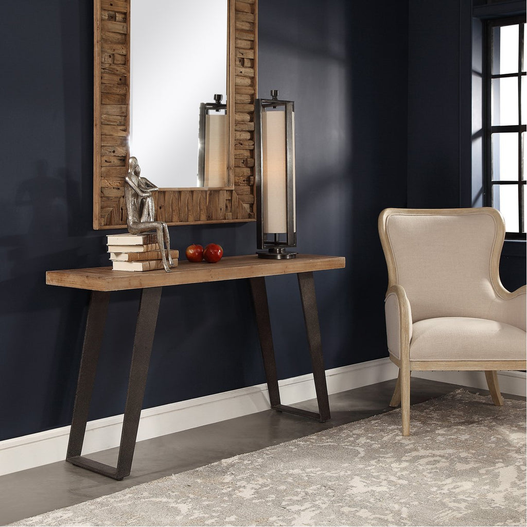 Uttermost Freddy Weathered Console Table