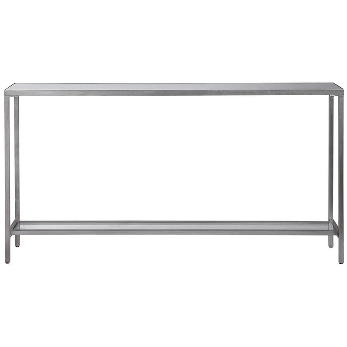 Uttermost Hayley Silver Console Table