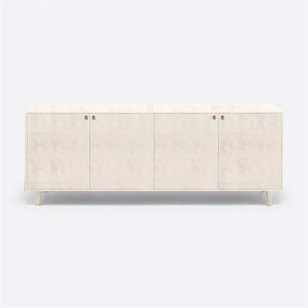 Made Goods Ramon Faux Shagreen 4-Door Buffet
