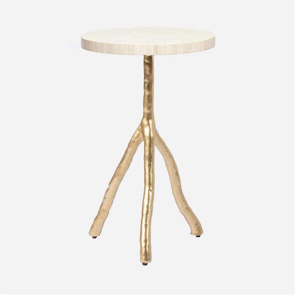 Made Goods Royce Natural Bone Side Table