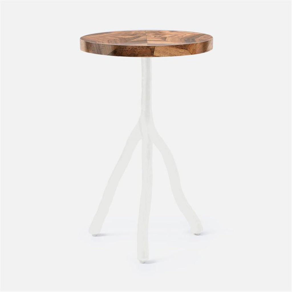 Made Goods Royce Natural Banana Bark Side Table
