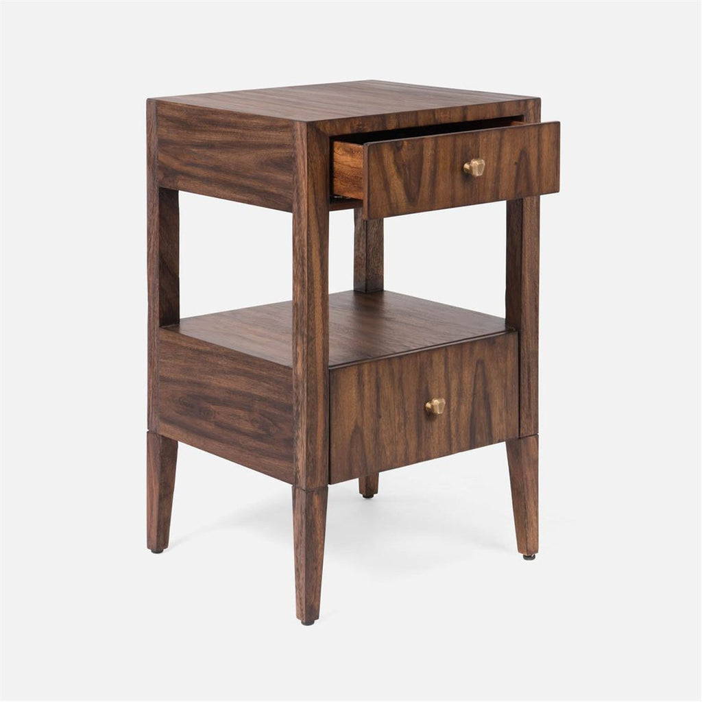 Made Goods Solaris Brazilian Wood Single Nightstand