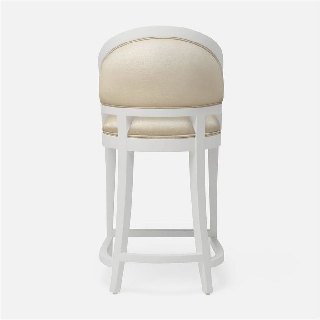 Made Goods Sylvie Counter Stool in Arno Fabric