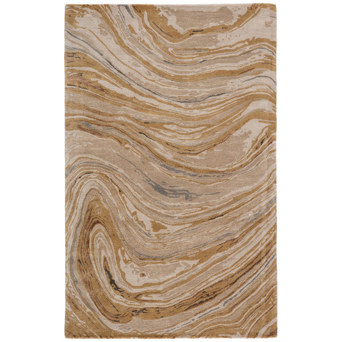 Jaipur Genesis Atha Abstract Gold Beige GES36 Rug