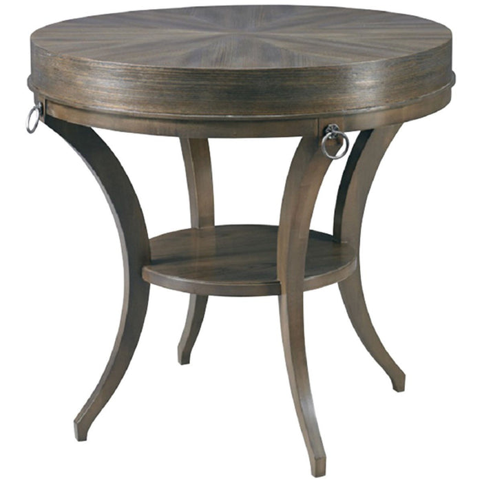 Hickory White Ruby Side Table 243-22