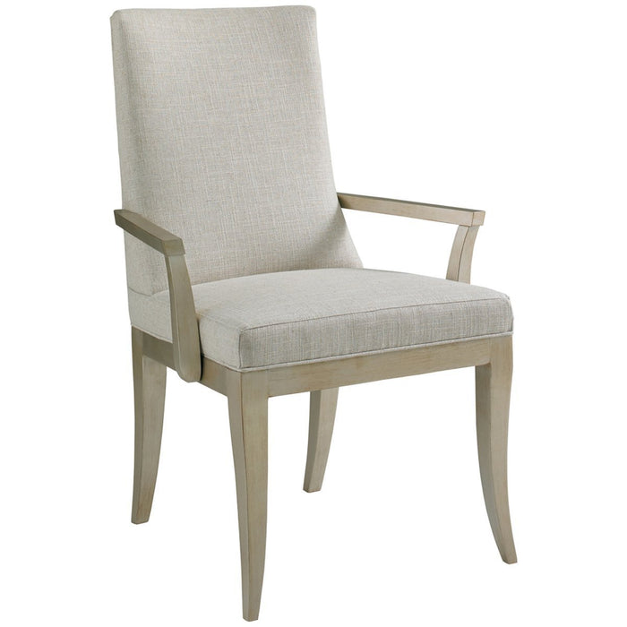 Hickory White Milan Arm Chair