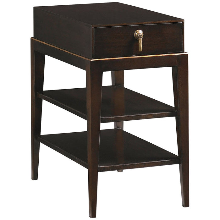 Hickory White Side Table 533-22