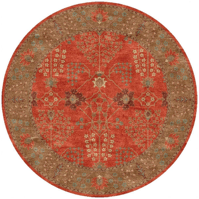 Jaipur Poeme Chambery Orange Rust/Gold Brown PM51 Area Rug